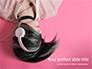 Emo Girl Wears Headphones slide 1