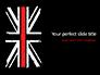 Thin Red Line British Flag slide 1
