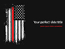 Thin Red Line USA Flag slide 1