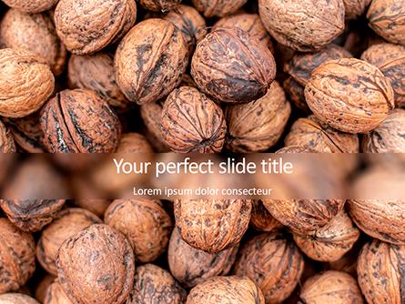 Walnuts Presentation Template, Master Slide