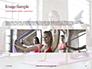 Beautiful Fitness Girls Doing Exercise Presentation slide 10