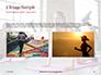 Beautiful Fitness Girls Doing Exercise Presentation slide 11