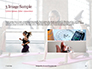 Beautiful Fitness Girls Doing Exercise Presentation slide 12