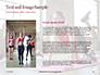 Beautiful Fitness Girls Doing Exercise Presentation slide 15
