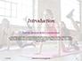 Beautiful Fitness Girls Doing Exercise Presentation slide 3