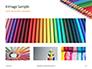 Colored Pencils Arranged in a Line Presentation slide 13
