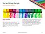Colored Pencils Arranged in a Line Presentation slide 14