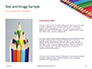 Colored Pencils Arranged in a Line Presentation slide 15