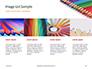 Colored Pencils Arranged in a Line Presentation slide 16