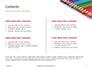 Colored Pencils Arranged in a Line Presentation slide 2