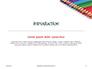Colored Pencils Arranged in a Line Presentation slide 3