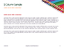 Colored Pencils Arranged in a Line Presentation slide 4
