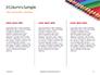 Colored Pencils Arranged in a Line Presentation slide 6