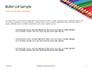 Colored Pencils Arranged in a Line Presentation slide 7