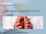 Closeup View of Baby's Toes on Bare Feet Presentation slide 10