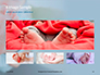 Closeup View of Baby's Toes on Bare Feet Presentation slide 13