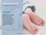 Closeup View of Baby's Toes on Bare Feet Presentation slide 9