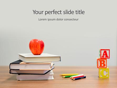 Primary School Concept Presentation Presentation Template, Master Slide