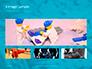 Scattered Blue Blocks of Building Kit Presentation slide 13