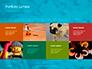 Scattered Blue Blocks of Building Kit Presentation slide 17