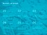Scattered Blue Blocks of Building Kit Presentation slide 8