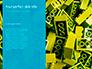 Scattered Blue Blocks of Building Kit Presentation slide 9