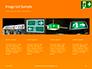 Emergency Exit Sign on Orange Background Presentation slide 16