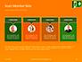 Emergency Exit Sign on Orange Background Presentation slide 18