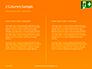 Emergency Exit Sign on Orange Background Presentation slide 5