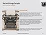 Old Typewriter Presentation slide 15