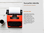 Old Typewriter Presentation slide 9