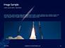 Space Rocket with Flames Presentation slide 10
