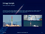 Space Rocket with Flames Presentation slide 12