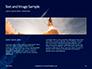 Space Rocket with Flames Presentation slide 14
