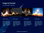 Space Rocket with Flames Presentation slide 16