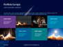 Space Rocket with Flames Presentation slide 17