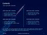 Space Rocket with Flames Presentation slide 2