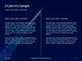 Space Rocket with Flames Presentation slide 5