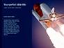 Space Rocket with Flames Presentation slide 9
