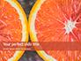Two Sliced Citrus Fruits Presentation slide 1