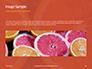 Two Sliced Citrus Fruits Presentation slide 10