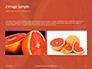 Two Sliced Citrus Fruits Presentation slide 11