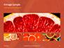 Two Sliced Citrus Fruits Presentation slide 13
