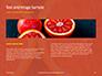 Two Sliced Citrus Fruits Presentation slide 14