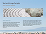 Folded Pyramid of Smooth Stones on the Seashore Presentation slide 14