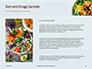 Grill Tofu and Veggies Dish Presentation slide 15