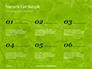 Green Tree Leaves in Sunlight Presentation slide 8