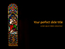 Window Painting in Church Presentation slide 1