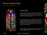 Window Painting in Church Presentation slide 15