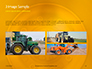 Closeup Photo of Yellow Vehicle Wheel with Tire Presentation slide 13